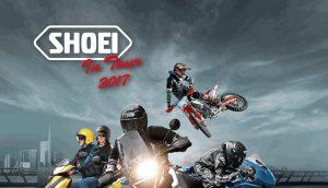 Shoei in Tour 2017